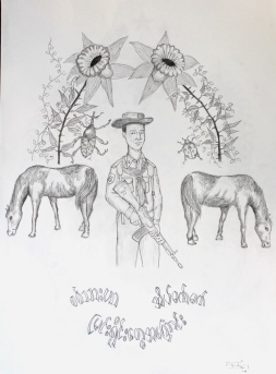 The Soildier Dreams about Wild Horses